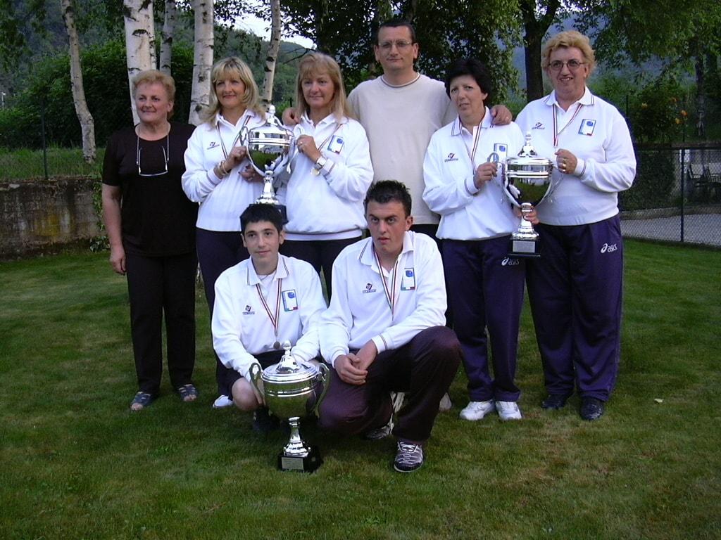 Campioni Italiani a Coppie 2005