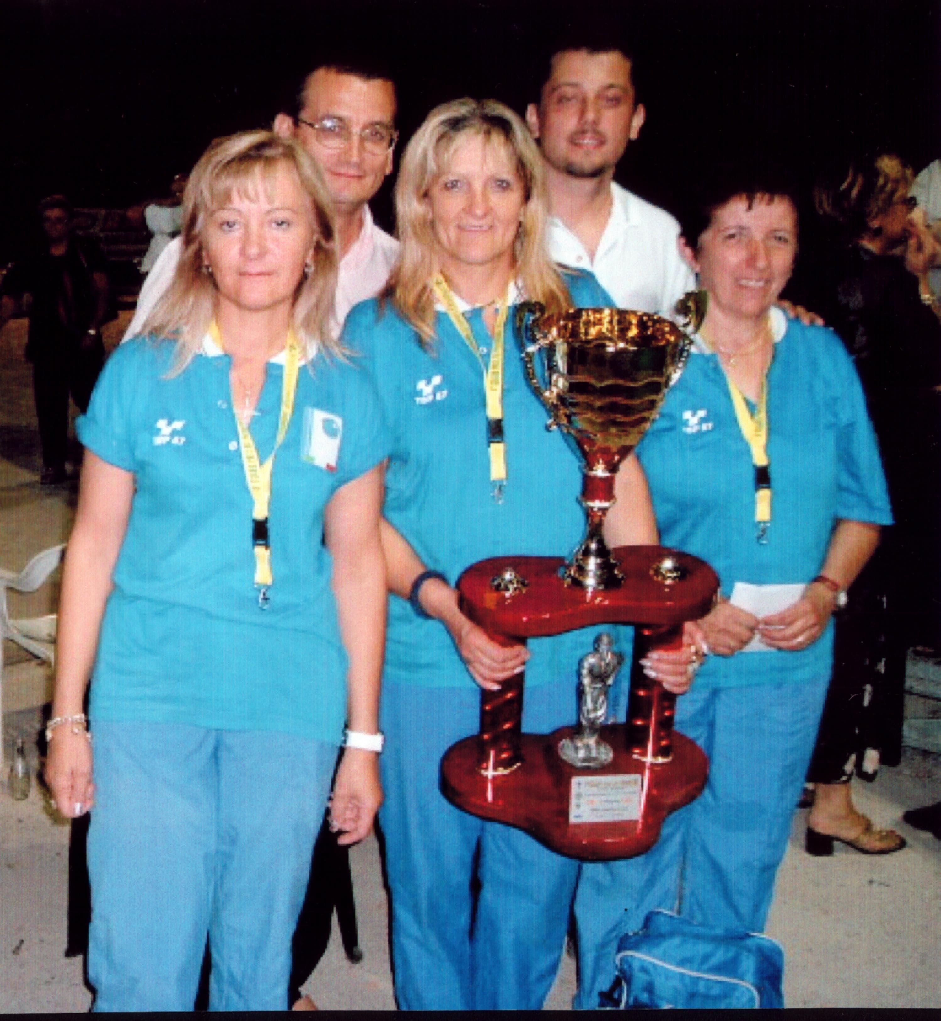 Vincitrici 4° Grand Prix